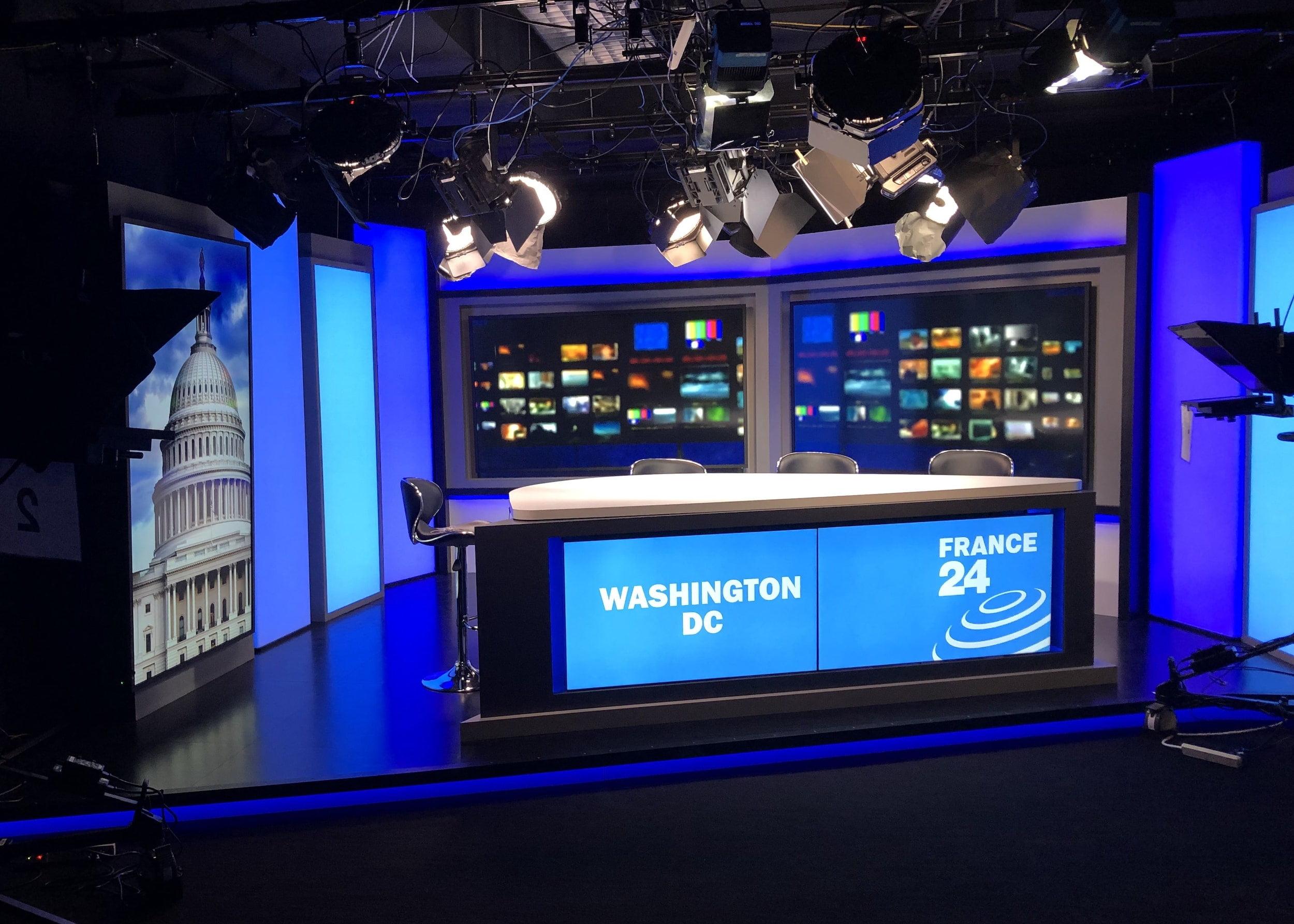 tv studio cameras